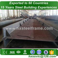 steel bulidings made of welded H beam large-Span well welded