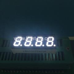 4 digit white led display;0.3' white; small white led display; white 7 segment;white display