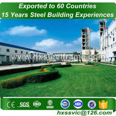 structural warehouse and Steel warehouse building hot Sell export to Senegal