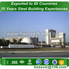 building steel buildings and steel building kits long life at Quito area
