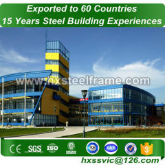 building steel structure and steel building kits hot-galvanized sale to Ankara