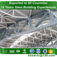Steel Structure Space Frame building made of H section steel column hot sale in Conakry