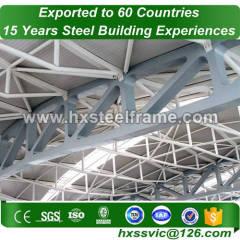 struttura in acciaio struttura a telaio spaziale realizzata in acciaio a sezione h con vendita a caldo in Conakry