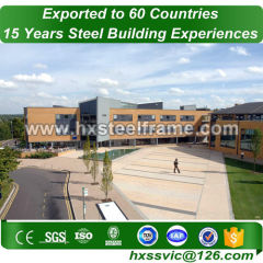 buildings made of steel and steel building kits top quality export to Brussels