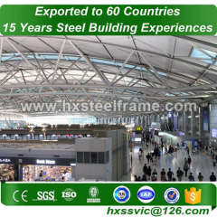 tubular space frame building and space frame construction factory direct sale