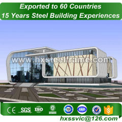 complete metal buildings and steel building kits with CE well welded for Asia
