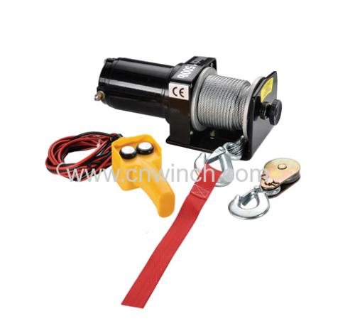 1500 LBS mini power winch