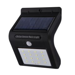 Solar Wall Lights 16LED Waterproof Wireless Motion Sensor Security Wall Light Step solar lights outdoor for Porch Patio