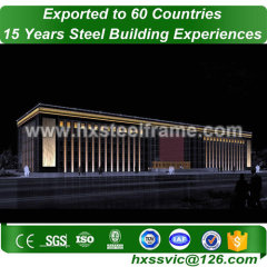 contemporary metal buildings and steel building kits ISO verified