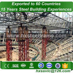 space frame system made of fabricated structure of lowest Price sale to Rwanda