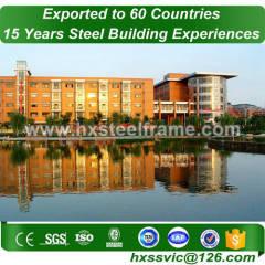 crown steel buildings and steel building kits ISO9001 reputably blasted