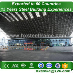 space grid structure building and steel space frame structures BV verified