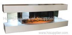 Wall Mounted Electric fireplace wth remote control