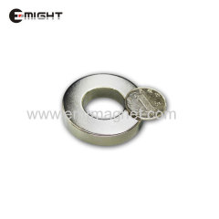 Neodymium Permanent Magnets Ring D50 x d25 x 10 mm 35SH