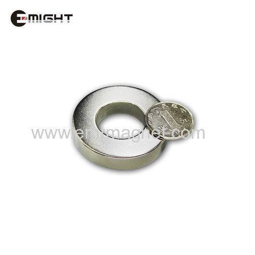 Neodymium Permanent Magnets Ring D50 x d25 x 10 mm 35SH