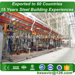 space frame model building by light gauge steel frame hot sale in Oman