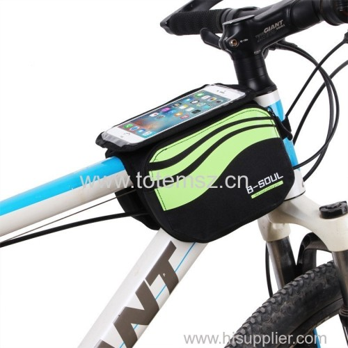 5.7 inch Bicycle Touch Screen Front Phone Bag
