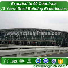 space frame roof structure building by metal structure frame for importer in Belmopan