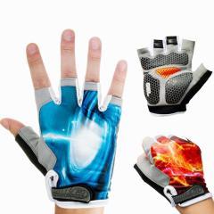 Half Finger Mountain Road Bike Riding Gloves