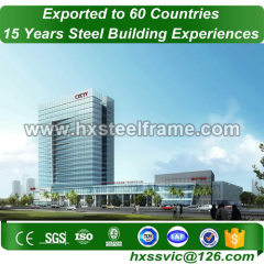 steel buildings made of light gauge steel ISO verified sale to South America
