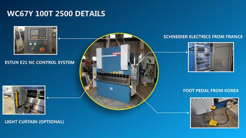 China top manufacturer of hydraulic NC metal bending machine