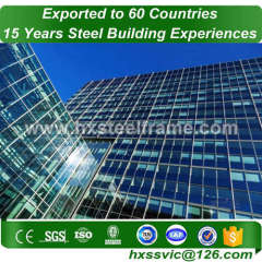 unique pre engineered steel buildings by welded steel beam / at Angola area