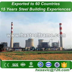 structure of thermal power plant made of heavy structures on sale nice created