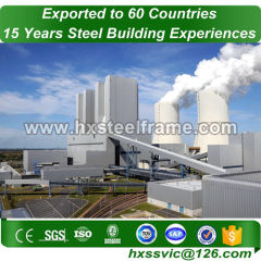 power plant structure and steel industrial buildings on sale sale to Malawi
