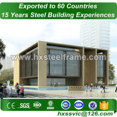 prefabricated classrooms and modular education buildings with long life span