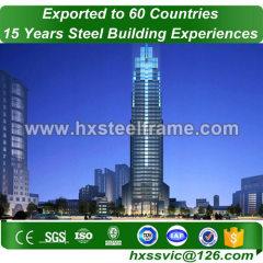steel frame garage and pre engineered metal buildings wide-span at Africa area
