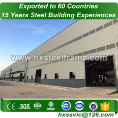 metal industrial buildings and steel frame industrial buildings AWS verified