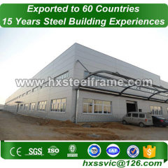 factory construction building made of built-up H beam ISO9001 to Guyana market