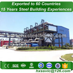modern industrial buildings made of frame structure hot Sell hot sale in Chile