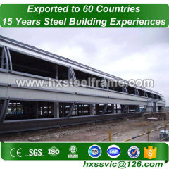 prefabricated factory buildings made of lightweight steel heatproof