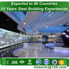 light gauge steel buildings and prefab metal buildings outdoor sale to Rwanda