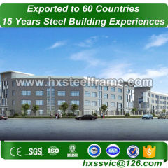 light steel building and prefab metal buildings as per AWS1.1 carefully made