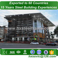 light steel framing systems and prefab metal buildings with CE at Malawi area