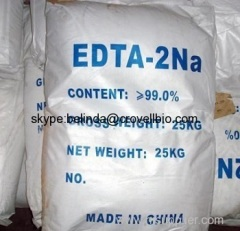 Ethylenediaminetetra acetic acidsdisodium salt EDTA2NA CAS: 139-33-3