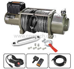 SYNTHETIC ROPE WINCH 16800LBS PLI COVERED
