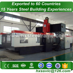 bonded warehouse made of metal fabrication work heavy-gauge to China customer