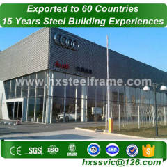 marshall steel buildings and prefab metal buildings by ASTM steel at Peru area