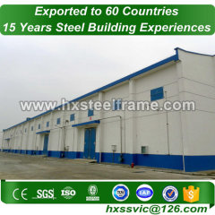 metal building barn made of prefabricated structures heatproof sale to Bahamas