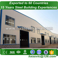 steel industrial buildings made of heavy structures big-Span to Dhaka customer