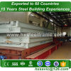 commercial metal storage buildings made of stell frame multi-span nice made