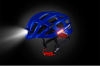 Ultralight Cycling Helmet with LED Light