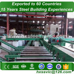 construction warehouse made of steel frame rj large-Span sale to Myanmar
