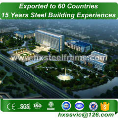 building structure made of structural frame multi-span sale to Pakistan