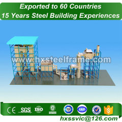 small steel buildings made of light steel with best design hot sale in Dhaka