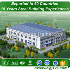 ag building made of steel frame light outdoor fabricate for Hanoi buyer