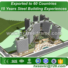 معجزة المباني الصلب والمباني المعدنية المخصصة متعددة تمتد إلى السوق اليمني